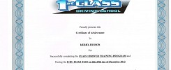 Class 1 Driving Program